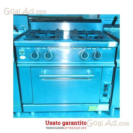 Cucine A Gas Usate In Vendita.Cucina Quattro Fuochi Marca Olis 80 70 96 Cerca Compra