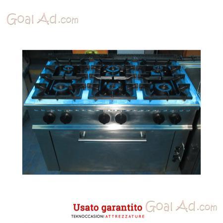 Cucine A Gas Con Forno A Gas Usate.Cucina Fuochi Professionale Vendo Forno Olis Cerca Compra