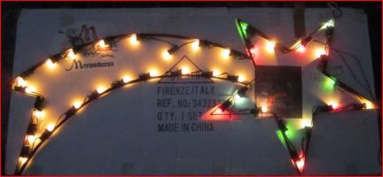 Stella Luminosa Di Natale.Stella Cometa Natale Luminosa Metallo Vendo Cerca Compra Vendi