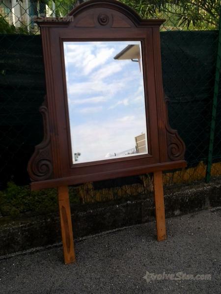 Mobile specchio bagno vintage anni offro cerca compra - Specchio ad unghia ...