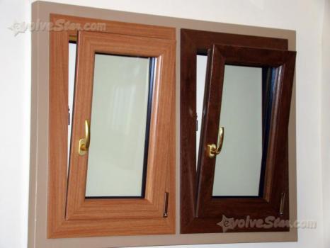 Persiane finestre porte alluminio noce scuro cerca for Finestre pvc usate