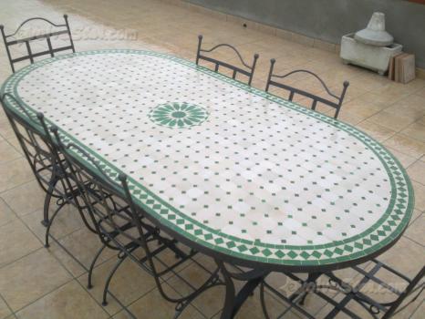 Tavoli giardino ferro ceramica vietri vari cerca compra vendi nuovo e usato vietri piatti - Tavoli da giardino in ferro battuto e mosaico ...