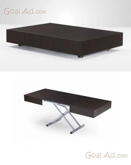Tavolo tavolino altezza regolabile struttura acciaio cerca compra vendi nuovo e usato - Tavolo regolabile in altezza ...