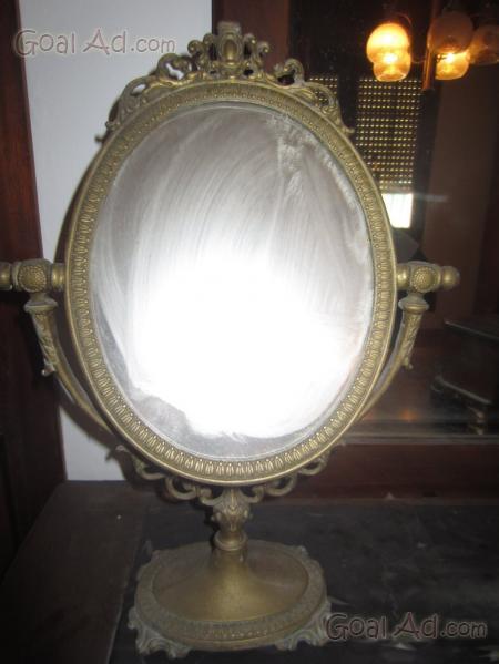 specchio ottone fine originale vendo ovale cerca compra