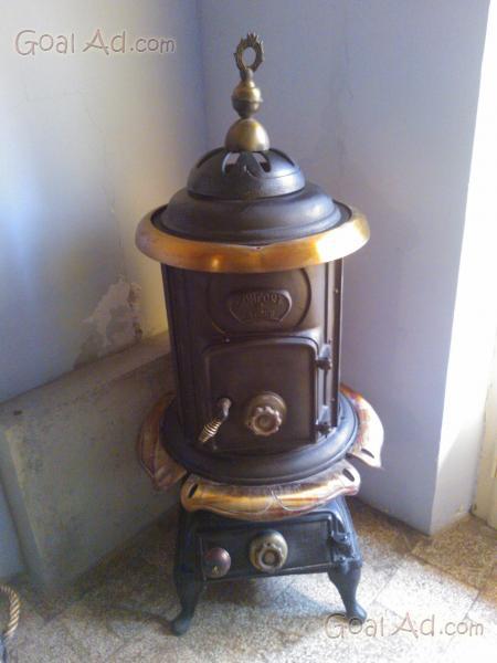 Antica stufa a legna in ghisa - Cerca, compra, vendi nuovo e usato: Antica stufa legna ghisa ...