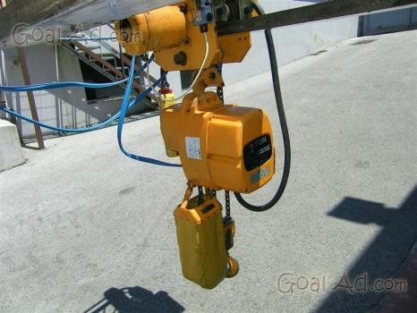 Paranco elettrico kito vendo usato portata cerca compra for Argano usato