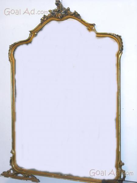 Specchio antico molto grande cornice legno cerca compra for Specchio rotondo antico
