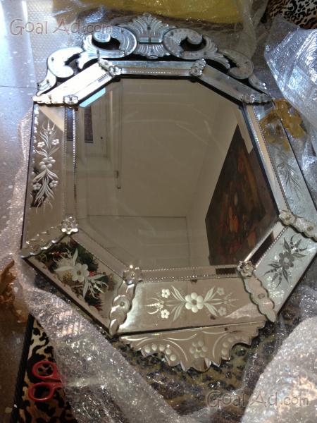 Specchio Murano Antico Parete Secolo Scorso Cerca