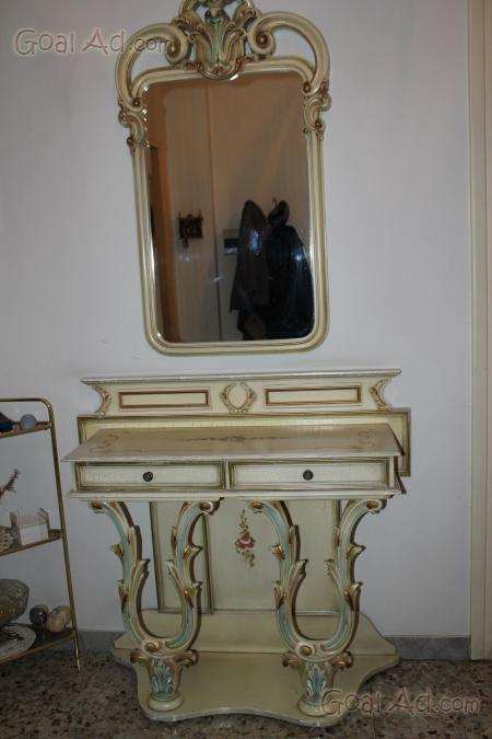 Consolle intagliata stile veneziano specchiera ottimo - Cerca ...