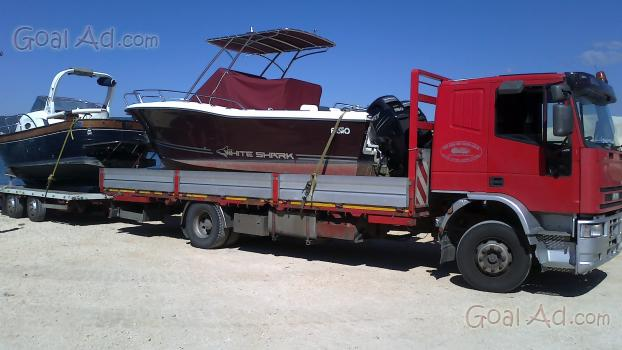 Trasporto barche carrello camion ribassati trasporti   cerca ...
