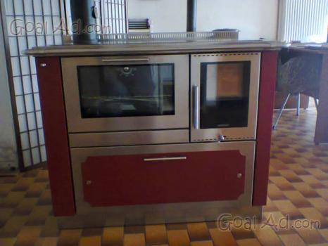 Cucina legna pertinger modello okoalpin100 panorama - Cucina a legna usata ...