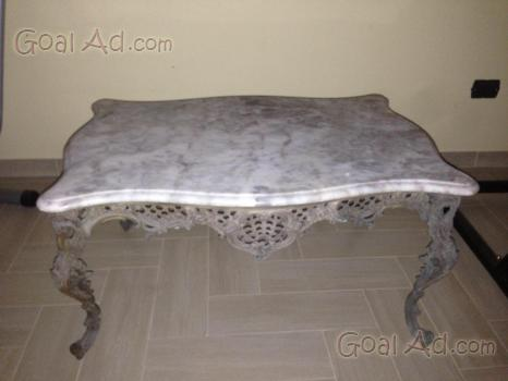 Tavolino marmo ottone antiquariato consolle piano - Cerca, compra ...