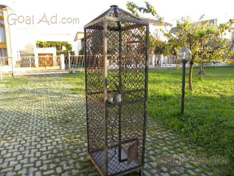 Treppiede gabbia vendo ferro altezza circa cerca compra for Vendo capannone in ferro