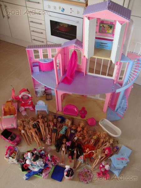 Casa barbie accessori casa barbie centinaia - Cerca, compra, vendi nuovo e usato: Barbie Casa ...