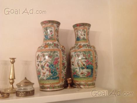 Vendo coppia vasi venini cinesi vendo cerca compra for Listino prezzi vasi venini