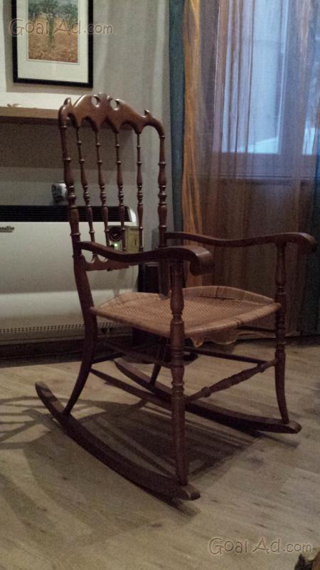 Sedia dondolo lillberg vendo struttura noce cerca compra vendi nuovo e usato sedia a - Sedia a dondolo usata ...