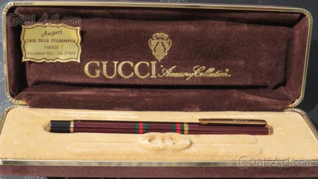 Gucci luxury collection penna sfera stilografica