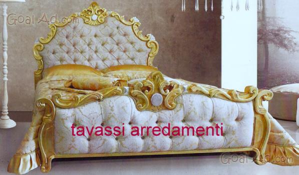 Arredamento Barocco Usato : Letto foglia barocco arredo matrimoniale modello cerca