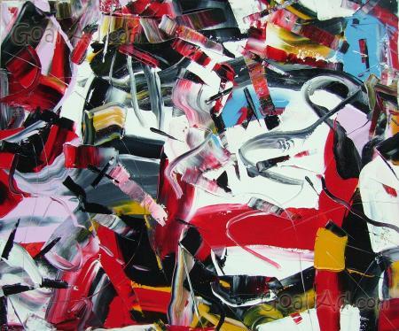 Vendita quadro eros serie pollon su canvas ritoccato a mano