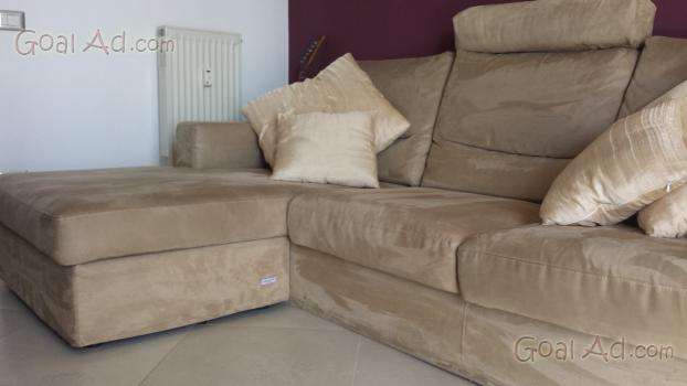 Divano poltrone sof microfibra penisola vendo cerca - Prezzo divano poltrone e sofa ...