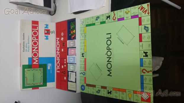 Monopoli editrice giochi 1961 banconote lire cerca for Nuovo arredo monopoli