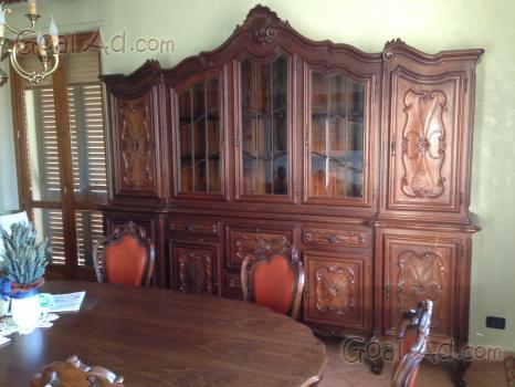 Arredamento Barocco Usato : Credenze tavolo sedie barocco piemontese vendo cerca