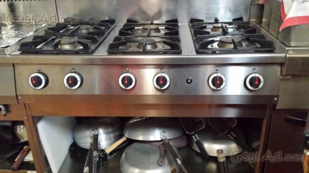Cucina ristorante cucina acciaio cappa cucina cerca - Cappa cucina usata ...
