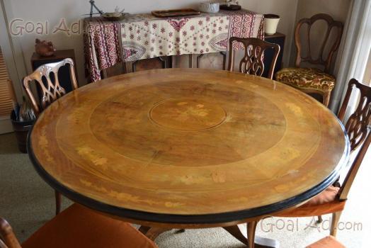 Tavolo rotondo usato roma trattamento marmo cucina - Tavolo da cucina usato ...