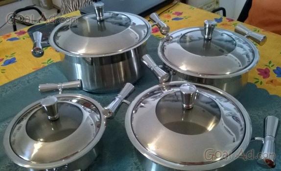 Cucina inox come nuova modello ottime cerca compra - Batteria da cucina imco ...