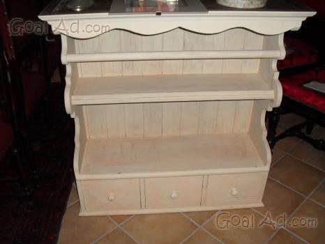 Credenza piattaia sarda legno castagno massello - Cerca, compra ...