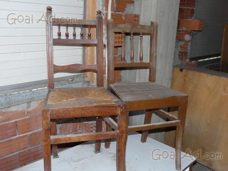 Sedie in legno con seduta in paglia... - Arredamento Casa - 18€