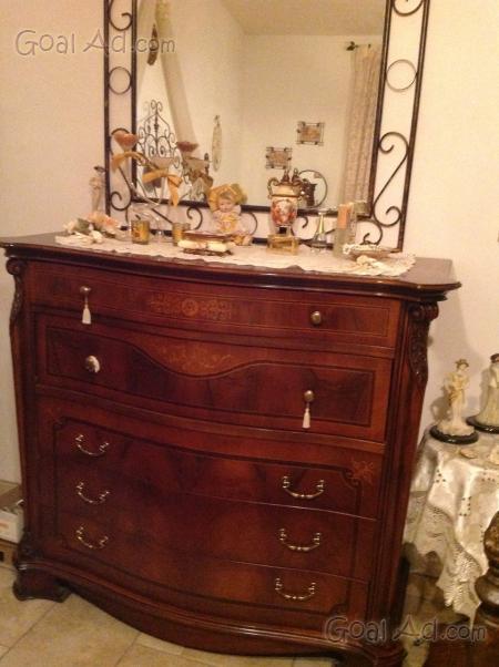 Comò fine comodini trittico antico marmo - Cerca, compra, vendi ...