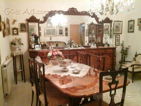 Tavolo pranzo inglese elegantissimo piano mistilineo - Camera da pranzo in inglese ...