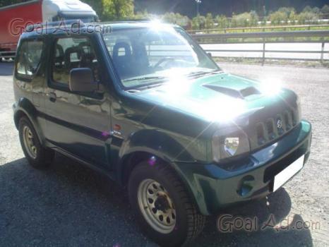 pezzi 5 Suzuki Jimny griglia anteriore originale effetto cromato