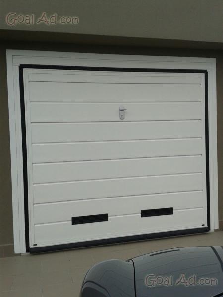 Portone garage basculante coibentato motorizzato motore - Prezzo porta basculante garage ...