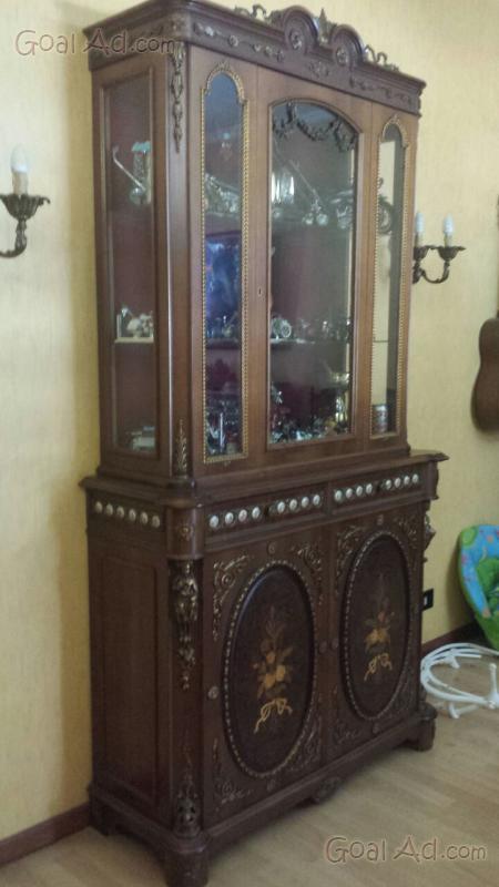 Credenza vetrina stile barocco piemontese ante cerca compra vendi nuovo e usato vetrina - Camera da letto in spagnolo ...