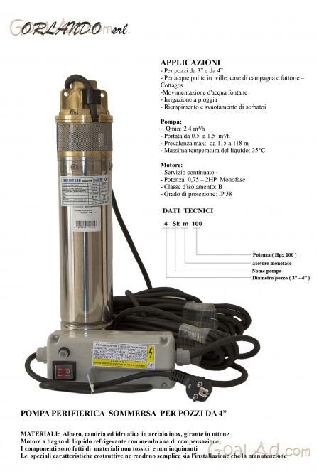 Schema Collegamento Galleggiante Pompa Sommersa : Schema elettrico per pompa sommersa monofase