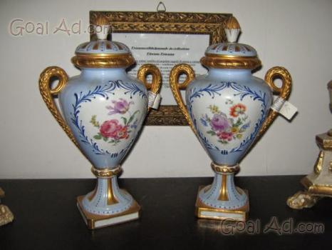 Porcellane vasi porcellana limoges dipinti mano cerca for Vaso capodimonte