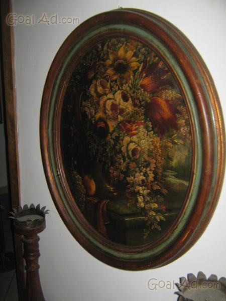 Specchio antico molto grande cornice legno cerca compra - Specchio antico ovale ...