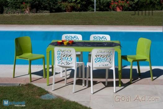 stock sedie giardino garden come nuove cerca compra