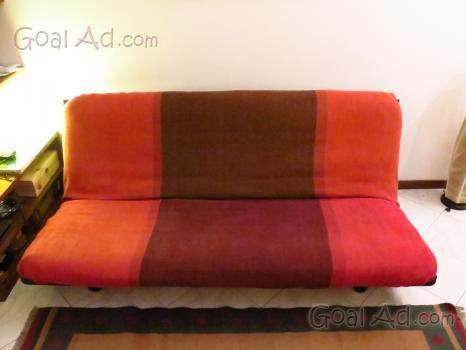 Divano letto futon cinius solida struttura cerca compra for Struttura letto divano