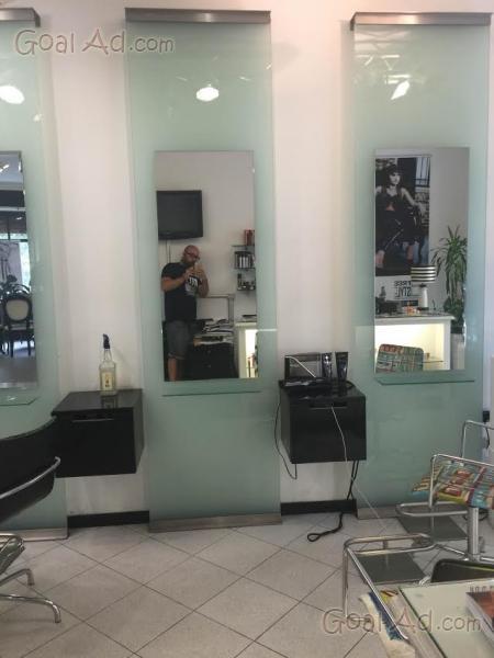 Postazioni lavoro parrucchiere gamma nuove usate cerca for Arredamento parrucchieri usato