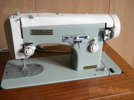 Macchina cucire cleveland mobile legno elettrica cerca for Macchina cucire pedale