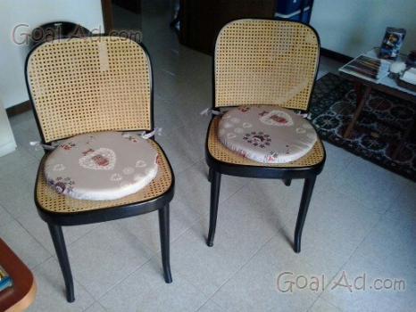 4 sedie herbatschek in paglia di vienna cerca compra for Sedie acciaio e paglia di vienna