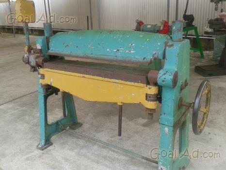 Piegatrice manuale piega vendo piegatrice lamiere cerca for Pressa idraulica manuale usata