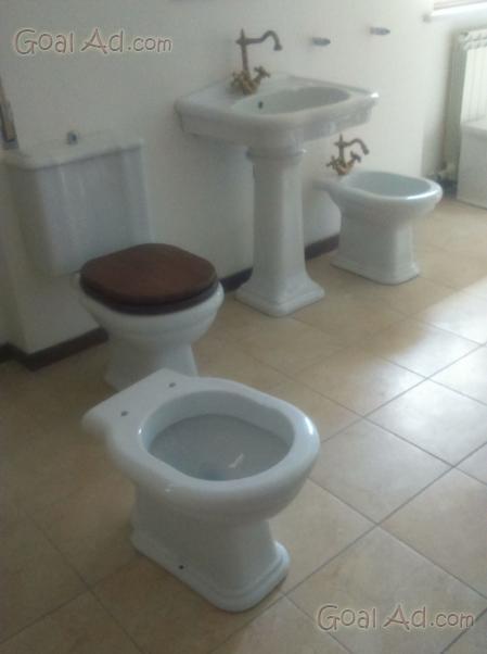 Tris sanitari lavabo wc bidet nuovi usati completo cerca compra vendi nuovo e usato offro - Sanitari bagno firenze ...