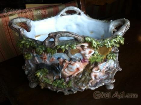 Ceramica capodimonte rara preziosa zuppiera centrotavola cerca