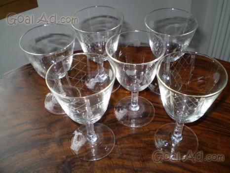 Bicchieri da acqua cristallo