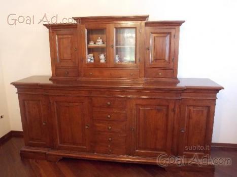 Mobili stile spagnolo credenza alzata legno cerca - Lc spa mobili ...