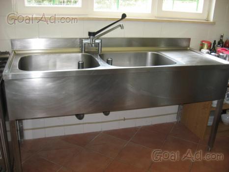 Lavello cucina miscelatore vasche piccola vano cerca - Lavello cucina professionale ...